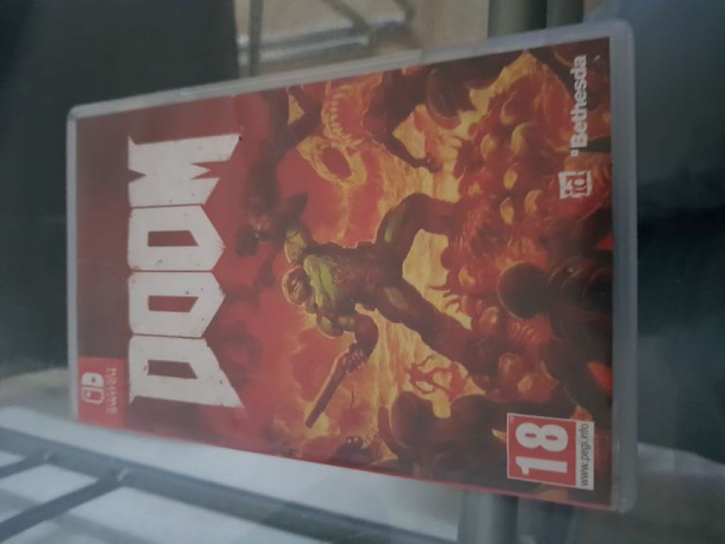 Nitendo switch games doom