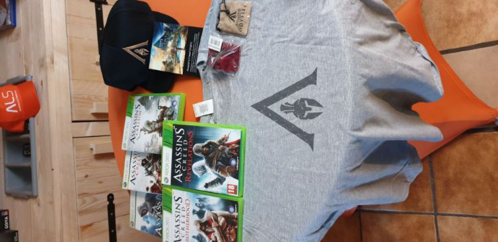 Een Assassin's Creed Xbox pakket