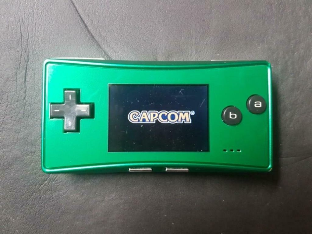 Gameboy Micro (green)
