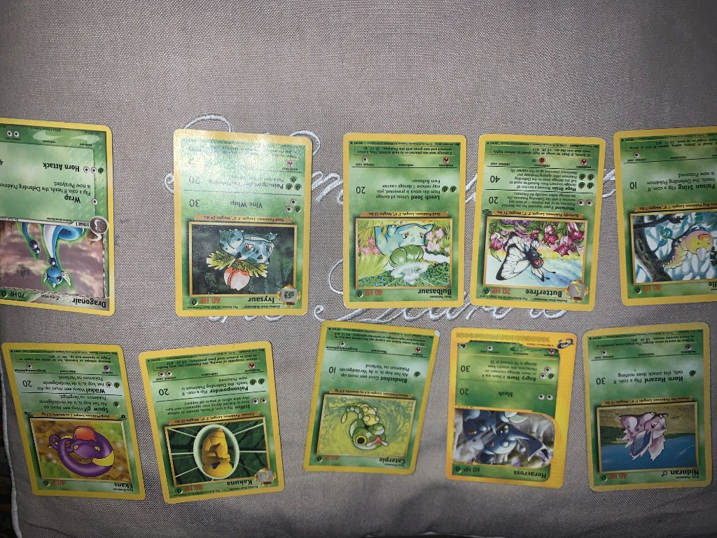 Pokemon cards Singles and All together !
